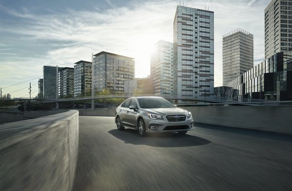 Subaru Legacy возвращается в Россию